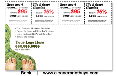 Carpet Cleaning Eddm Postcard 6 5 X 9 C0002 16pt Uv Gloss