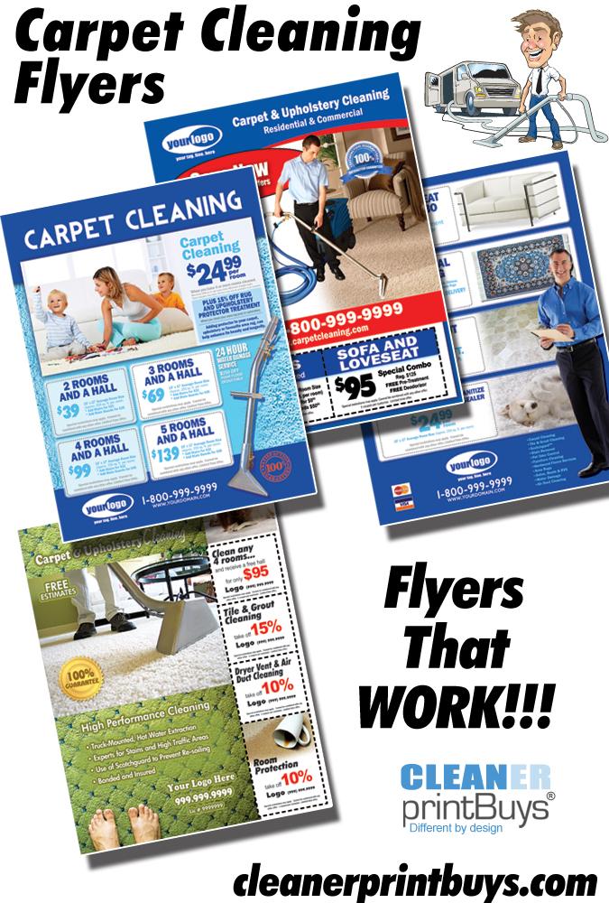 Free Carpet Cleaning Flyer Templates Vidalondon