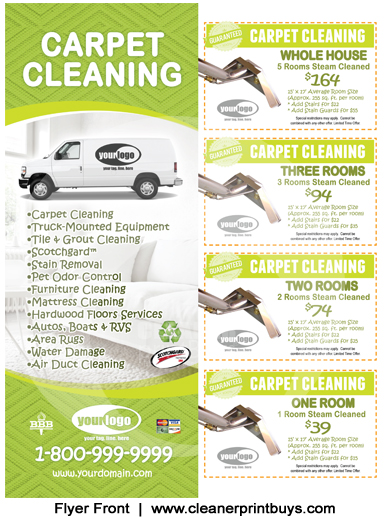 Carpet Cleaning Flyer 8 5 X 11 C1005