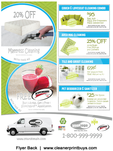 Carpet Cleaning Flyers #C00000