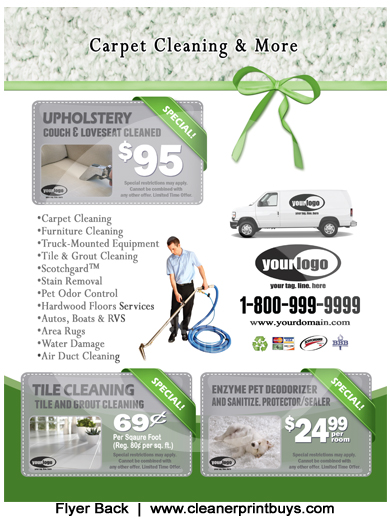 Carpet Cleaning Flyer 8 5 X 11 C1023