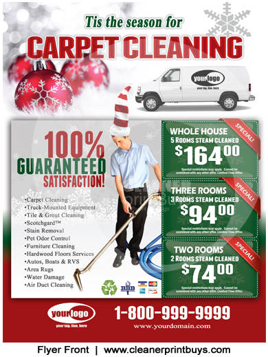 Carpet Cleaning Flyer 8 5 X 11 C2002