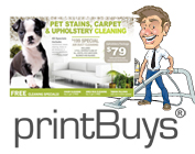 Carpet Cleaning Postcards # C0003