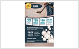 Carpet Cleaning Flyers C0004 8.5 x 5.5