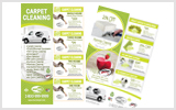 Carpet Cleaning Flyers C1005 8.5 x 5.5