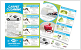Carpet Cleaning Flyers C1006 8.5 x 11