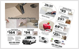 Carpet Cleaning Flyers C1076 8.5 x 11