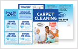 Carpet Cleaning Postcards c0001 8.5 x 5.5