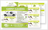 Carpet Cleaning Postcards c0001 6 x 11