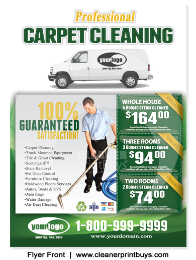 Carpet Cleaning Holiday Eddm Postcard 6 5 X 9 C1002