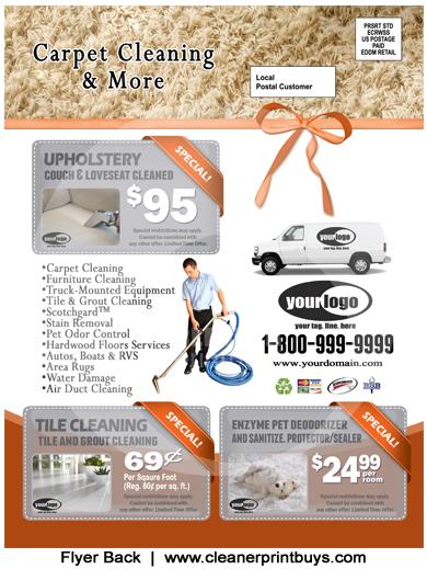 Carpet Cleaning Holiday EDDM (8.5 X 11) #C1024