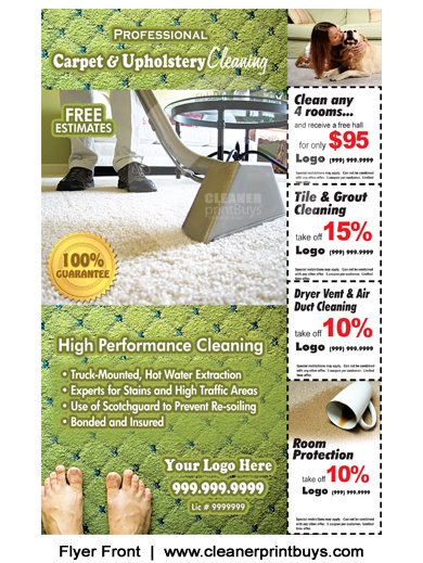 Carpet Cleaning Flyer 8 5 X 5 5 C0002